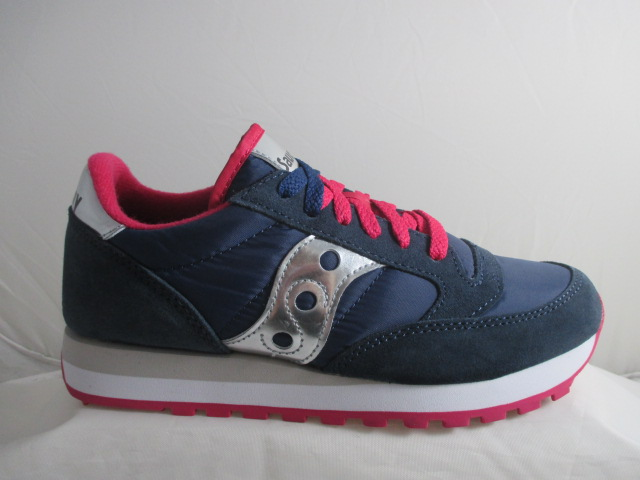SAUCONY jazz original  blue pink