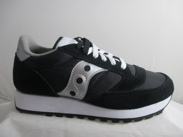 SAUCONY jazz original black silver