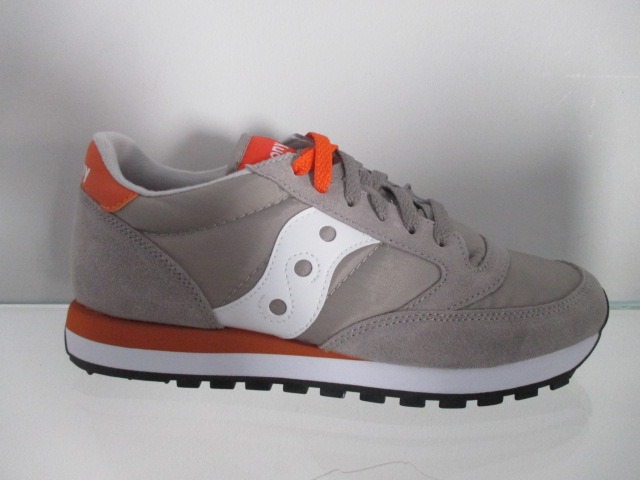 SAUCONY jazz original grey orange