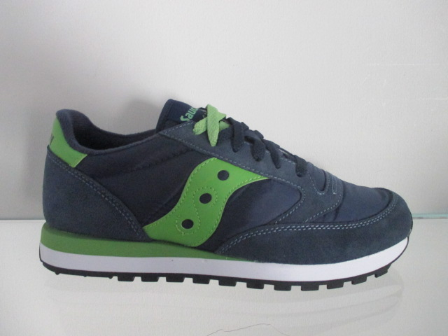SAUCONY jazz original  navy green