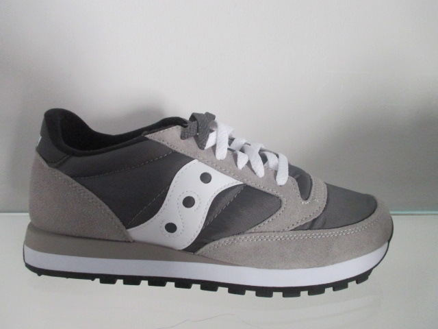 SAUCONY jazz original  grey white