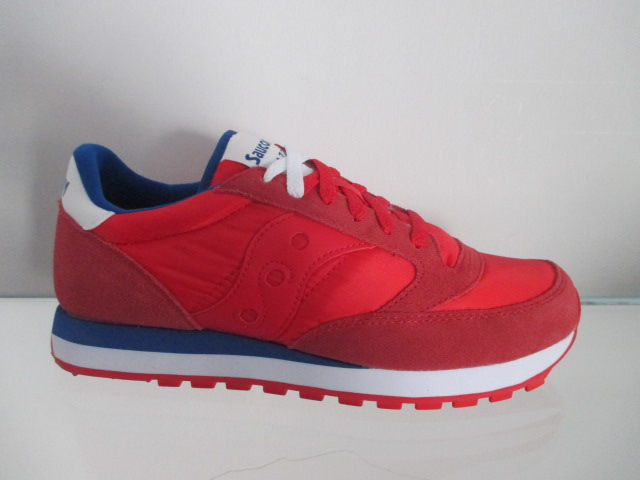 SAUCONY jazz original red blue