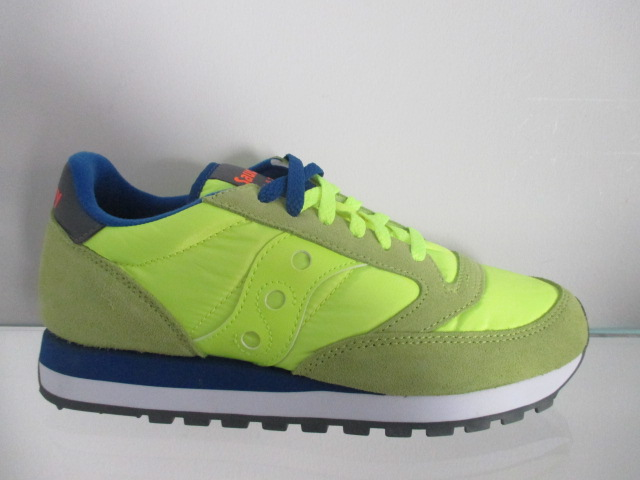 SAUCONY jazz original  citron blue