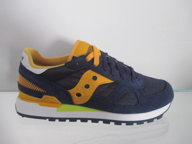 SAUCONY jazz shadow navy mustard