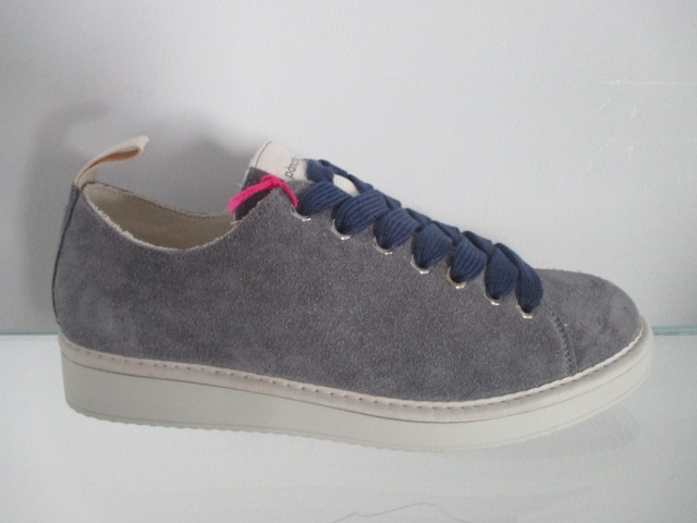 PANCHIC sneakers in camoscio blu