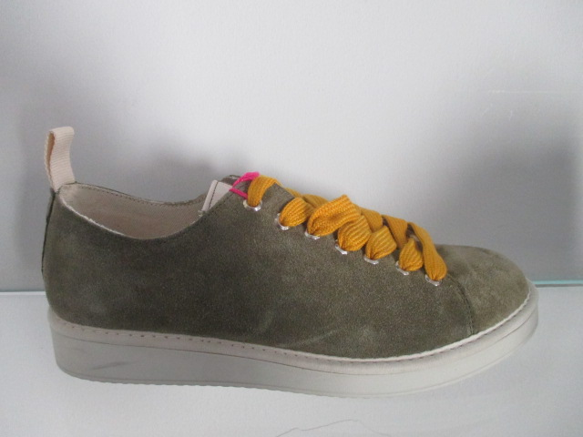 PANCHIC sneakers in camoscio Verde