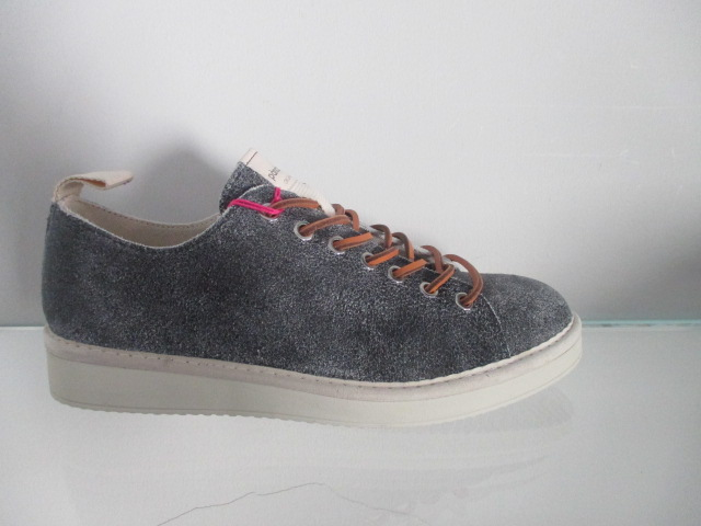 PANCHIC sneakers in pelle vintage Grigio antracite